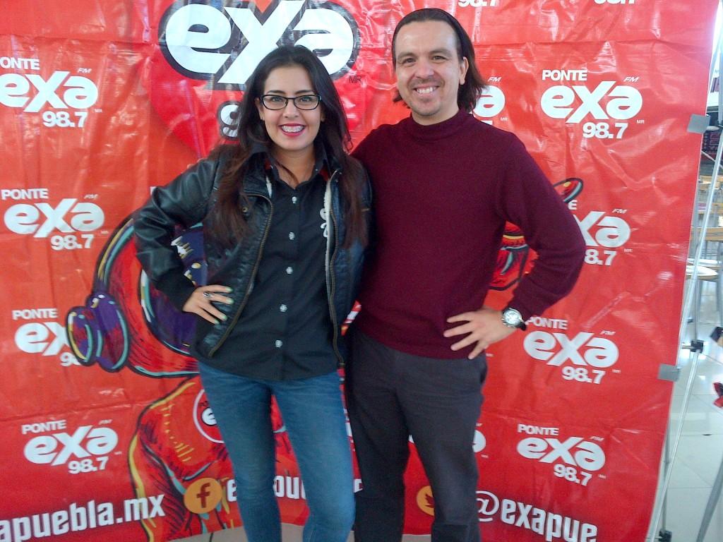 Deborah Montesinos y Daniel Fajardo