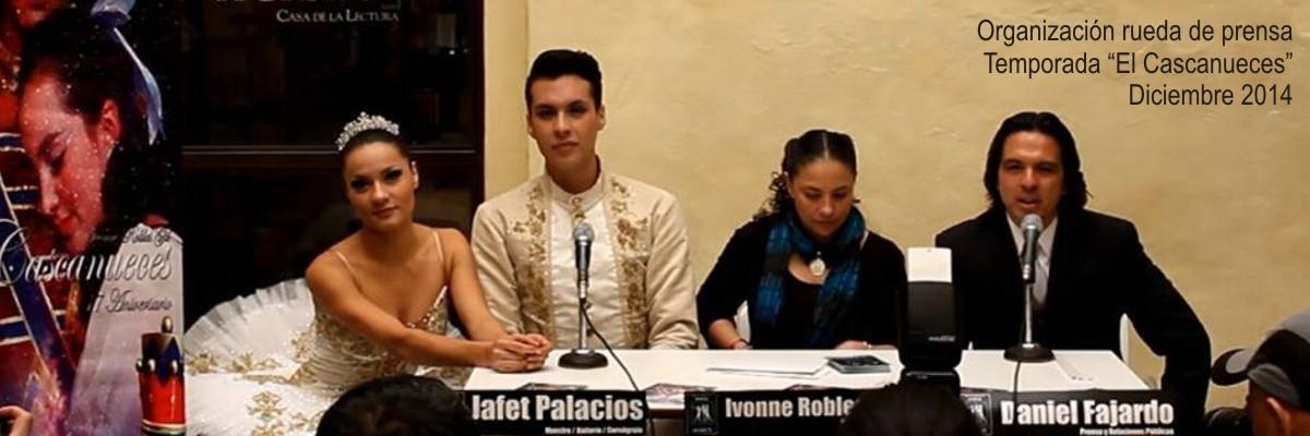 "Rueda de Prensa ""El Cascanueces 2014"""